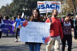 Estuvimos presente en la marcha Revolución Inclusiva