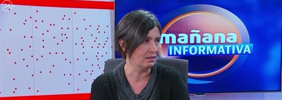 "Isabel Zúñiga en ""Mañana Informativa"""