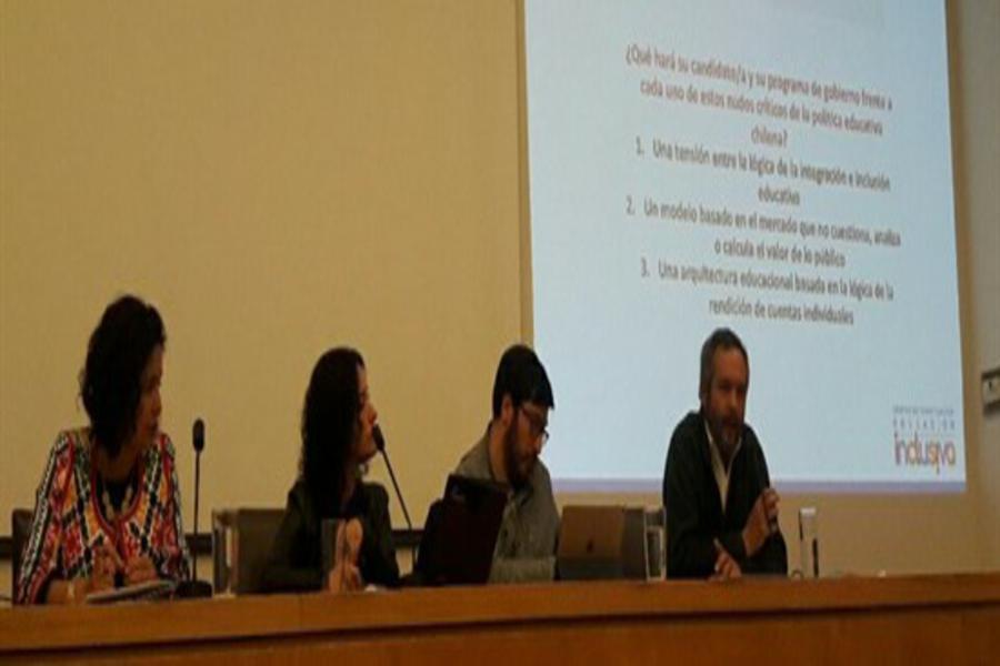 Representantes de candidatos dialogan sobre Inclusión en Educación