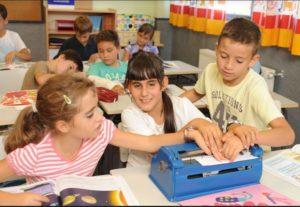El beneficio de que haya alumnos con distintas capacidades en el aula