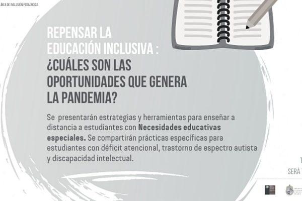Mis Talentos junto al CJE realizan Webinar sobre Educación Inclusiva