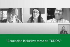 Lee más sobre el artículo Conversatorio analizó cómo avanza la inclusión en comunidades educativas diversas